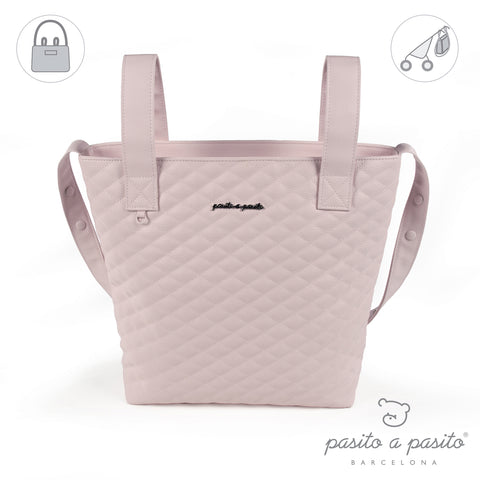 Ines Baby Changing Bag - Medium Pink