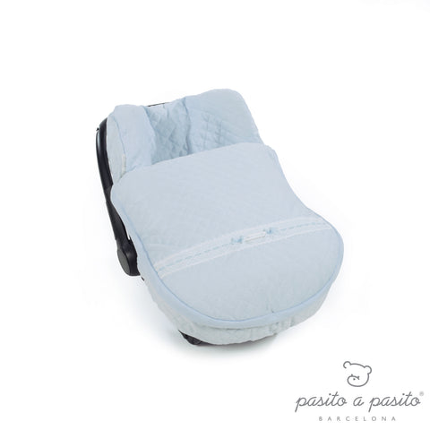 Oxford Winter Baby Car Seat Cover - Blue
