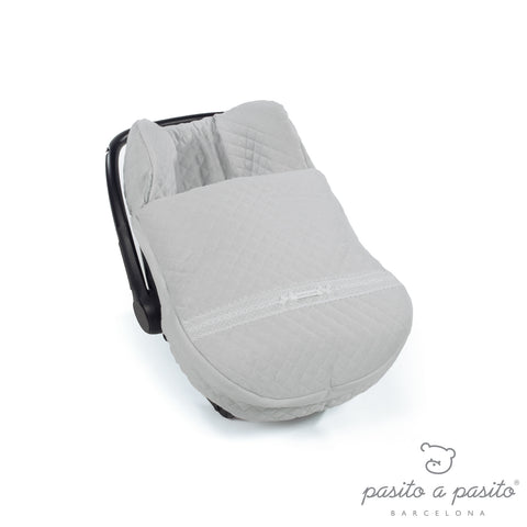 Oxford Winter Baby Car Seat Cover - Grey