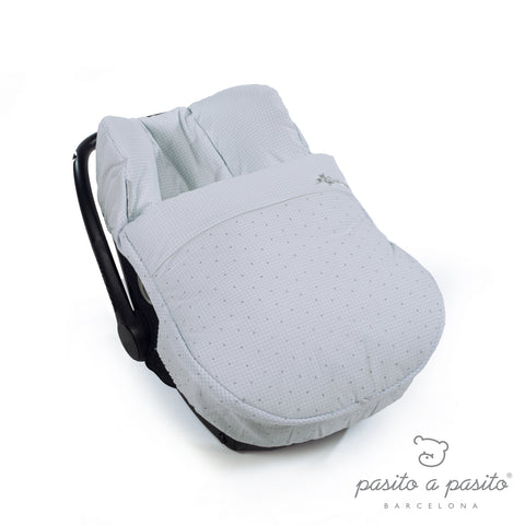 Petit Etoile Winter Car Seat Cover - Blue