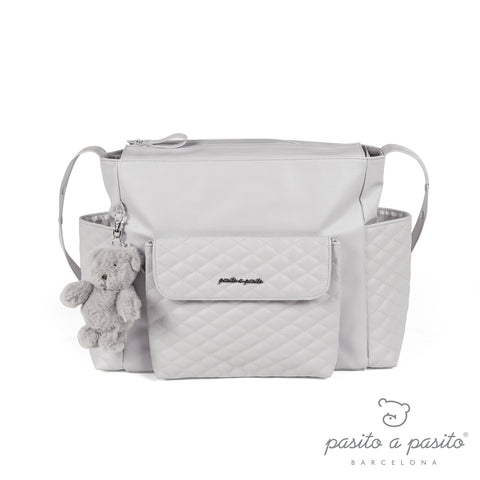 Ines Baby Changing Bag & Mat - Grey