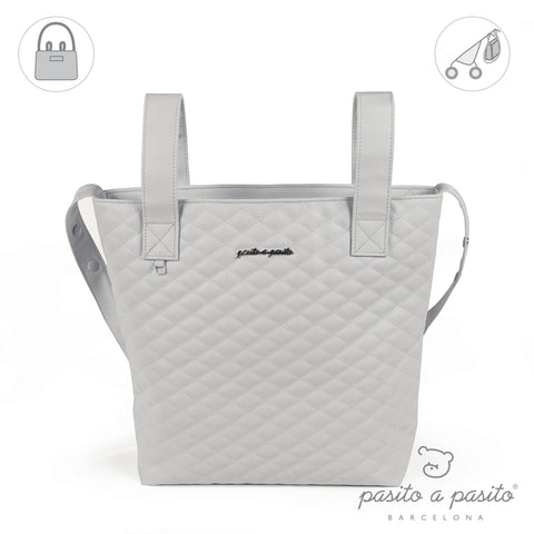 Ines Baby Changing Bag - Medium Grey
