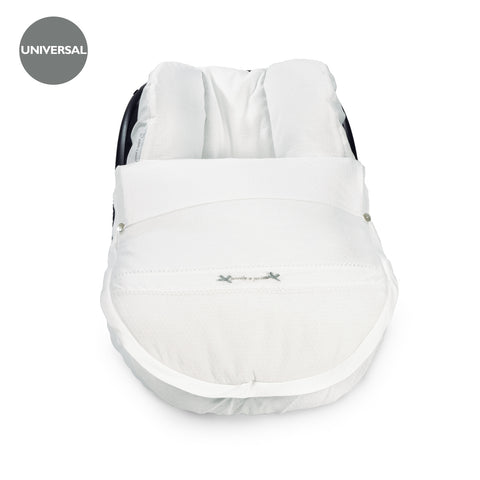 Total White Baby Car Seat Cover