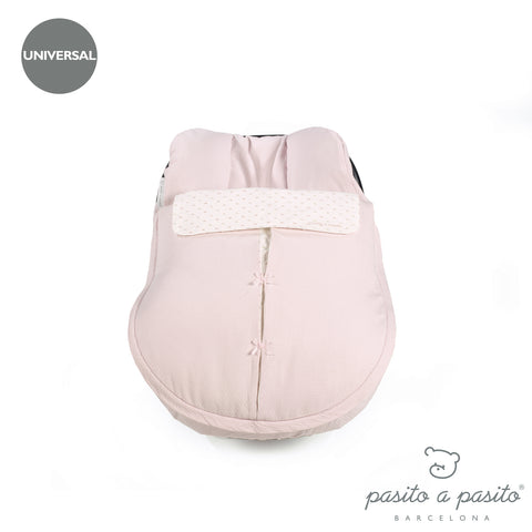 Biscuit Baby Car Seat Cover - Pink