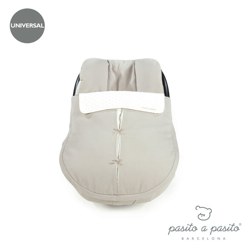 Biscuit Baby Car Seat Cover - Beige
