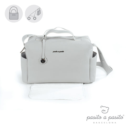 Biscuit Baby Changing Bag Grey