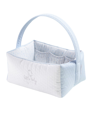 Piu Piu Nursery Basket - Blue