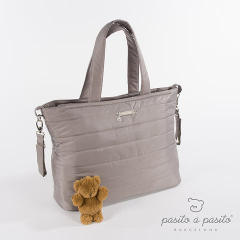 Aspen Baby Changing Bag - Grey - Amelia loves - 1