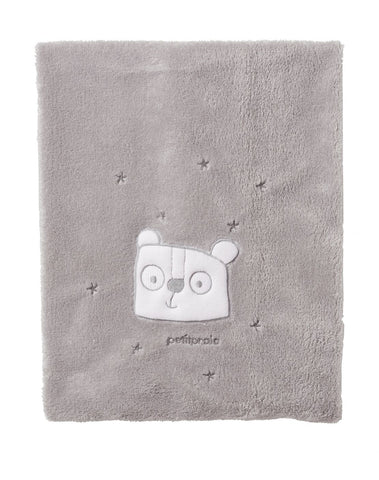 Bobo Fleece Blanket - Grey
