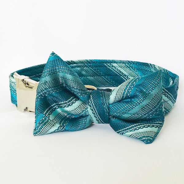 "Halsbånd Vintage Bow Tie ""Turquise"""