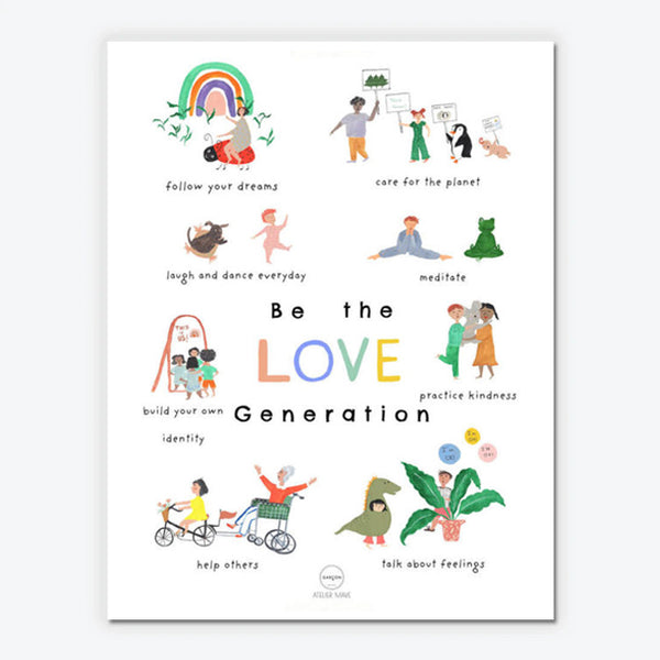 Love Generation...-plakat str. 50x70cm
