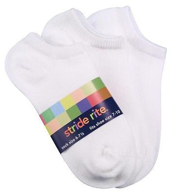 Seamless No Show Socks 6-Pack by Stride Rite