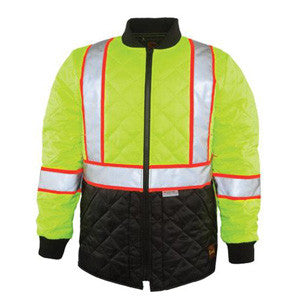 The Navigator Quilted Hi-Vis Jacket