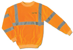 Polyester Fleece Tradesman Crew Neck Sweatshirt