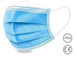 Copy of Pack of 250 Non-Woven 3 ply disposable face mask