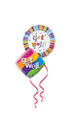 Balloon Bouquets - Get Well Soon