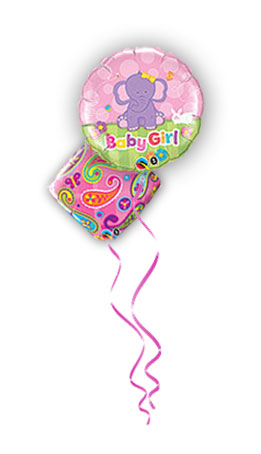 Balloon Bouquets - Baby Girl