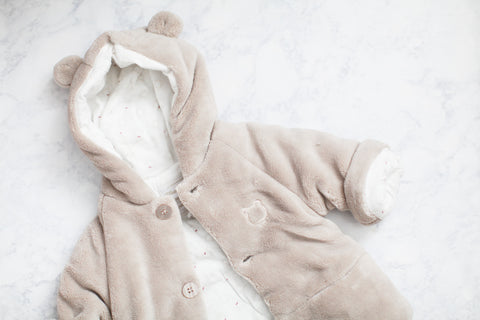 Baby's Tan Brown Fleece Coat