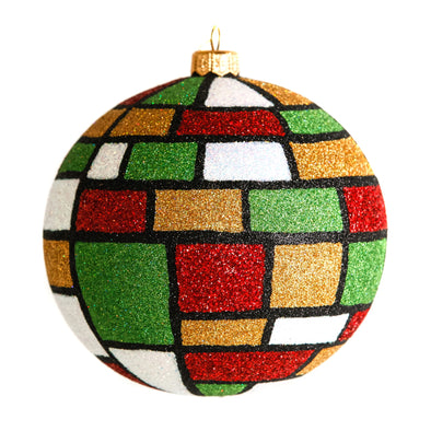 Thomas Glenn Holidays Handcrafted 'Mondrian Christmas' Ornament