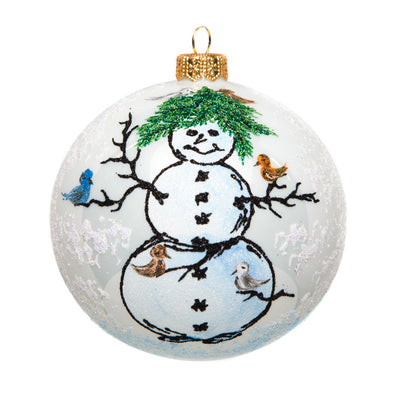 Thomas Glenn Holidays Handcrafted 'Tom's Snowman' Ornament