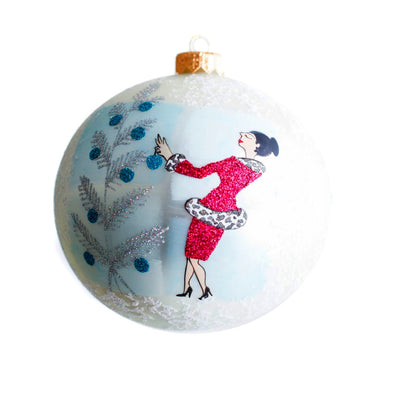 Thomas Glenn Holidays Handcrafted 'Auntie Mame' Ornament
