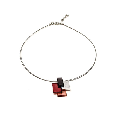 Cubist Pendant Necklace