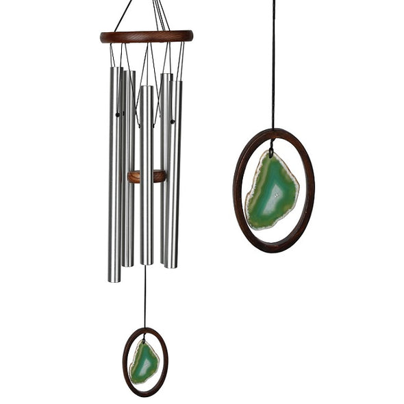 Large Green Agate Wind Chime