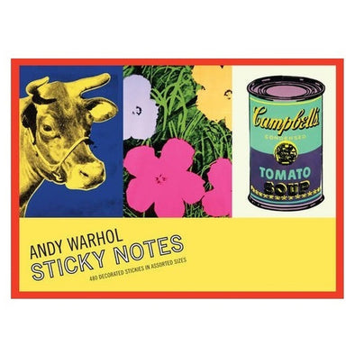 Andy Warhol's Greatest Hits Sticky Note Set