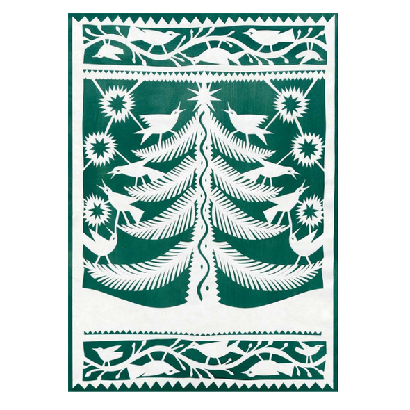 Green Tree Holiday Boxed Card Set