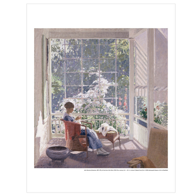 John Sharman, 'At the End of the Porch' Print