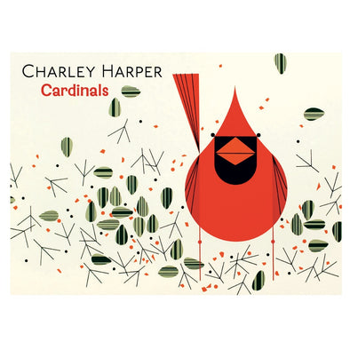 Charley Harper Cardinals Boxed Notecards