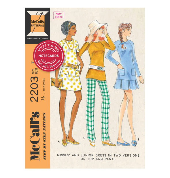 Vintage McCall's Patterns Boxed Notecards