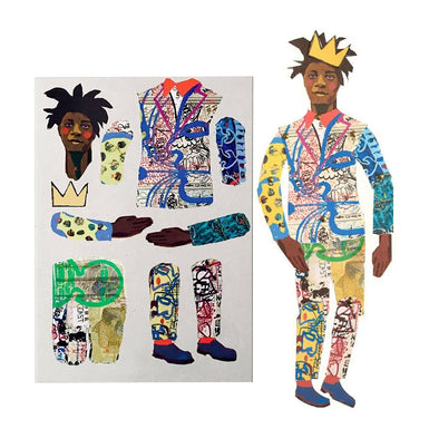 Jean-Michel Basquiat Cut-Out Puppet