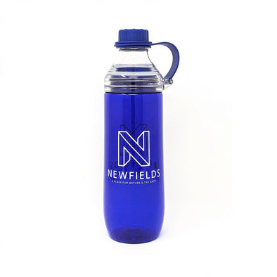 Newfields Reusable Water Bottle with Inner Fruit Basket