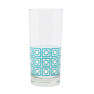 Breezeway Design Collins Glass - Teal