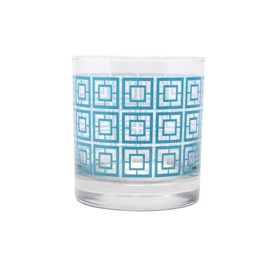 Breezeway Design Rocks Glass - Teal