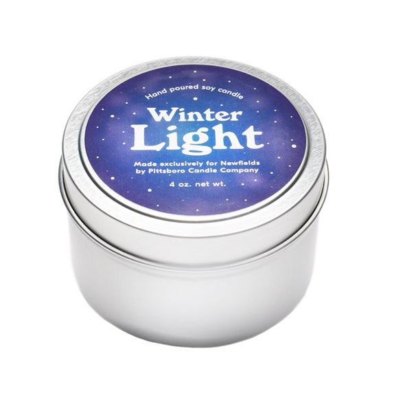 Winter Light Newfields Candle
