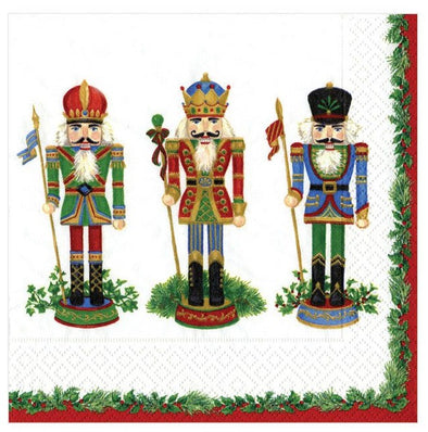 Nutcracker Holiday Cocktail Napkin Set
