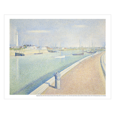 Georges Seurat 'The Channel of Gravelines, Petit Fort Philippe' Print