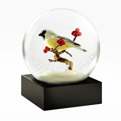 Chickadee Snow Globe