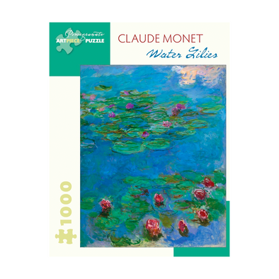 Claude Monet Waterlilies Jigsaw Puzzle