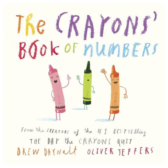 Crayons' Book of Numbers Board Book