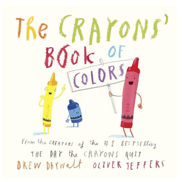 Crayons' Book of Colors Board Book