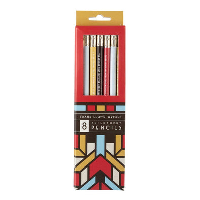 Frank Lloyd Wright Philosophy Pencil Set