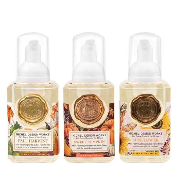 Autumn Collection Mini Foaming Hand Soap