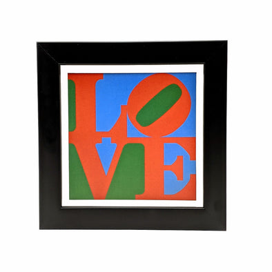 Robert Indiana Love Framed Mini Print