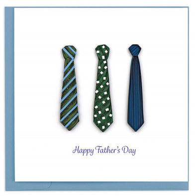 Father's Day Ties Quilling Card