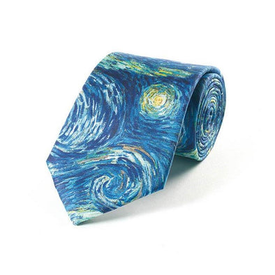 Van Gogh Starry Night Tie