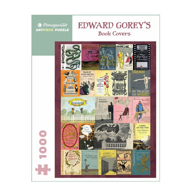 Edward Gorey's Book Covers Puzzle