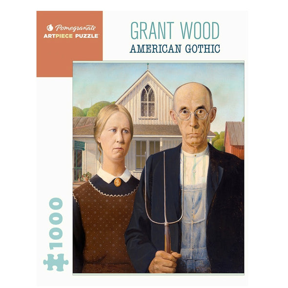 Grant Wood: American Gothic Puzzle